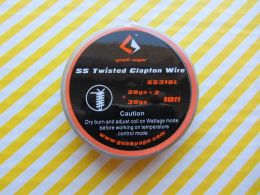 GeekVape SS Twisted Clapton SS316L Wire 28GA*2/Twisted + 30GA