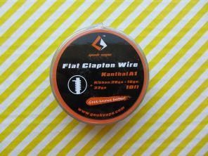 GeekVape KA1 Flat Clapton Wire, Ribbon(26GAx18GA)+32GA