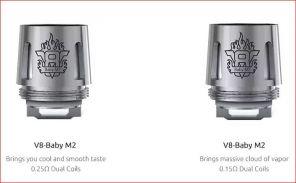 Сменный испаритель V8 Baby-M2 для SMOK TFV8 Baby Beast
